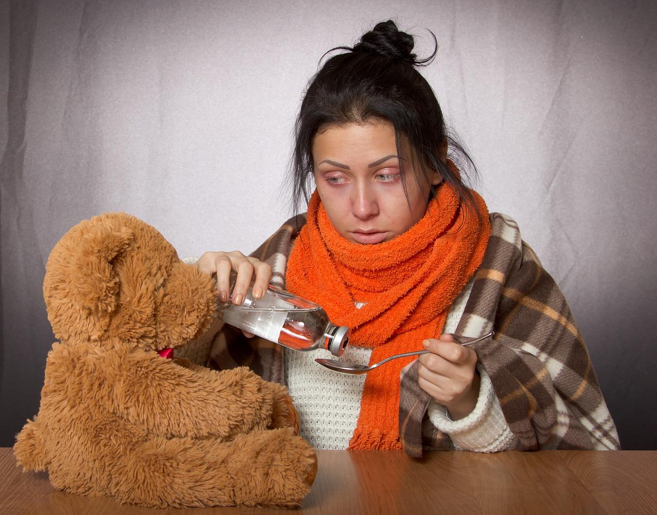 resfriado o gripe