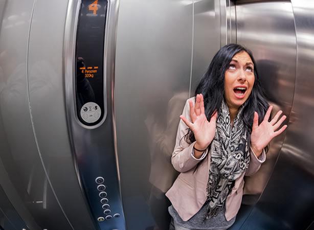 La phobie de l'ascenseur