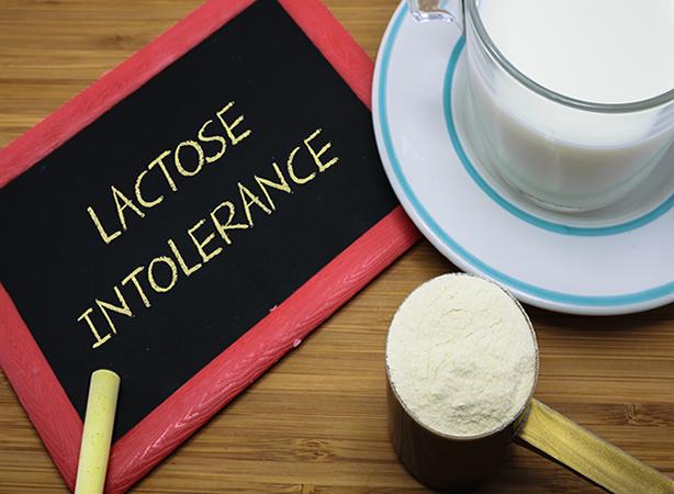 lactase, intolérance au lactose