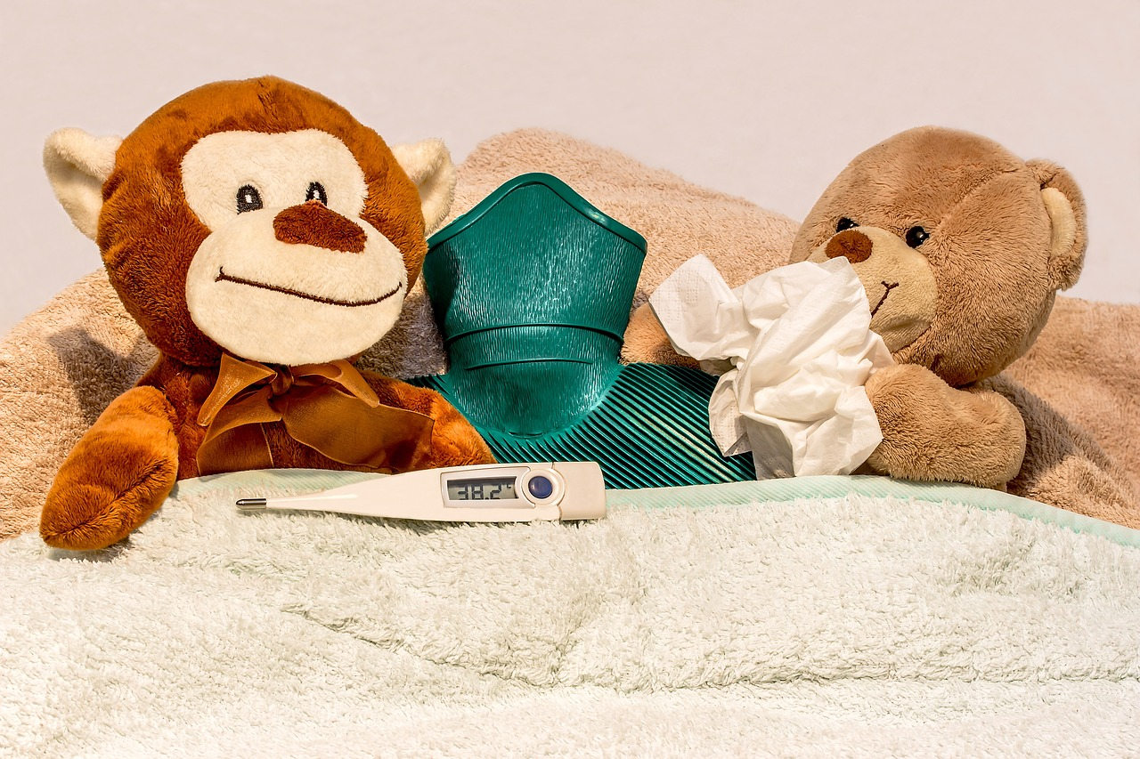 constipação comum das crianças