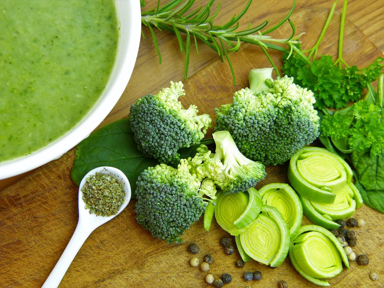 Glutationa, brócolos