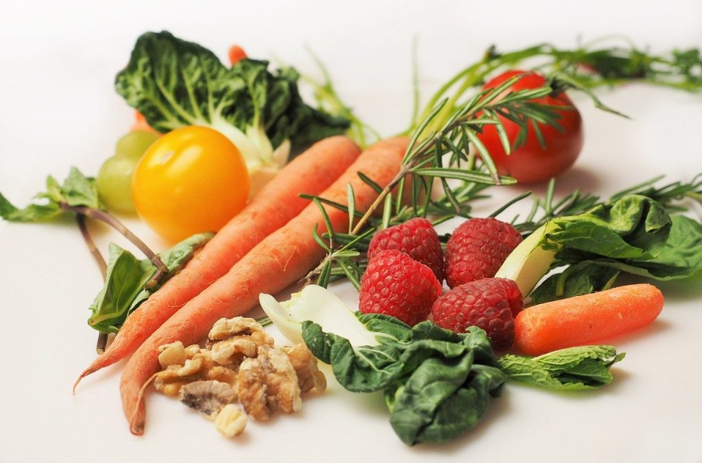 vitamine C et de bêta-carotènes